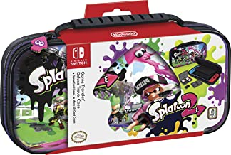 Nintendo Switch Splatoon Carrying Case – Protective Deluxe Travel Case – PU Leather Exterior – Official Nintendo Licensed Product