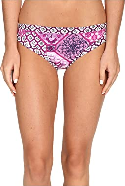 Tiles of Tropics Banded Hipster Bottom