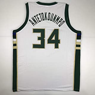 Best giannis antetokounmpo jersey white Reviews