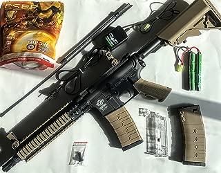 g&g combat machine cm18 mod1 aeg airsoft rifle - dst / black(Airsoft Gun)