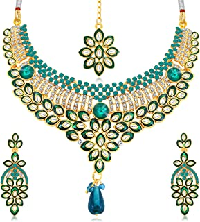Sukkhi Jewellery Sets for Women (Golden) (N71695ADAP600)