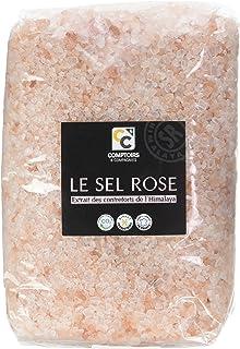 COMPTOIRS ET COMPAGNIES Sel Rose Cristaux Sachet 1 kg
