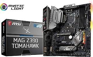 لوحة ام للالعاب من ام اس اي ماج Z390 توماهوك LGA1151 (انتل الجيل الثامن والتاسع) M.2 يو اس بي 3.1 الجيل الثاني DDR4 واتش د...