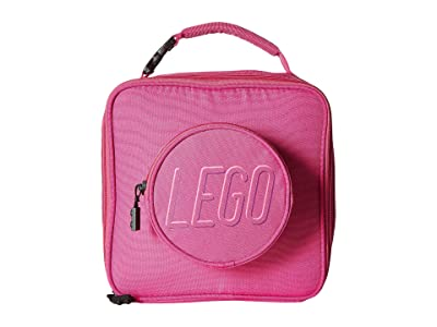 LEGO Brick Lunch Bag (Pink) Duffel Bags