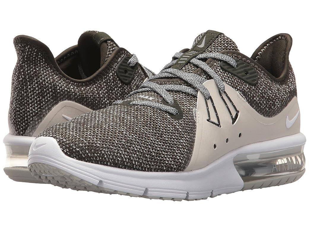 サラミ別の幻想的(ナイキ) NIKE レディースランニングシューズ?スニーカー?靴 Air Max Sequent 3 Sequoia/Metallic Platinum/White 11 (28cm) B - Medium