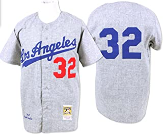 Sandy Koufax Los Angeles Dodgers Mitchell & Ness Authentic 1963 Button Up Jersey