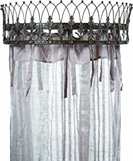 Creative Co-op Metal Curtain Crown