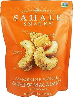 Sahale Snacks Tangerine Vanilla Cashew Macadamia Glazed Mix Nuts 15 Oz.
