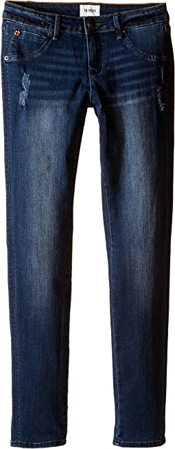 Hudson Kids - Collin Skinny Flap Pocket Skinny in Lexington Wash (Big Kids)