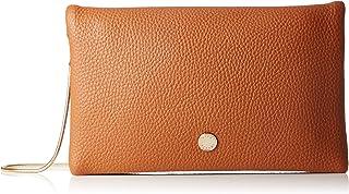 Lino Perros Tan Leatherette Sling Bag