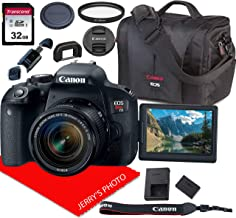 $639 » Canon EOS Rebel T7i DSLR Camera w/Canon EF-S 18-55mm F/4-5.6 is STM Zoom Lens + Canon Case + 32GB SD Card