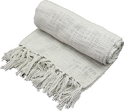 Amazon.com: Zhouminli - Manta para sofá (100% algodón ...
