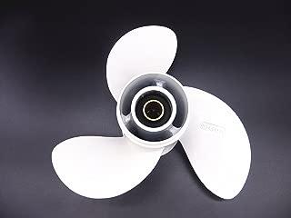 SouthMarine Aluminum Propeller 8 1/2x8 1/2 -N for Yamaha 6hp 8hp 9.9hp F6 F8 F9.9 Boat Engines 6G1-45941-00-EL 6G1-45941-00-00 8.5x8.5