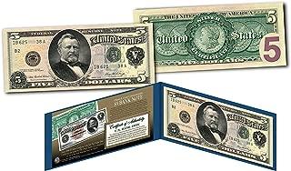 1886 5 silver certificate