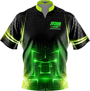 Logo Infusion Bowling Dye-Sublimated Jersey (Sash Collar) - Storm Style 0081 - Sizes S-3XL