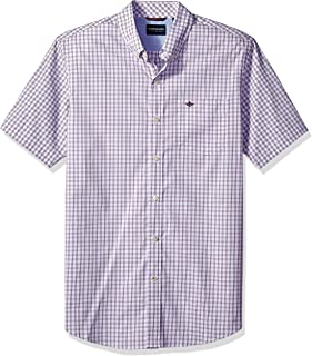 Best white short sleeve button up mens Reviews