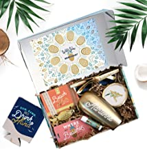 Sincerely, Me Personalized 'Will You Be My Bridesmaid' Proposal Box Gift Set for Bridesmaids, Matron, and Maid of Honor (Tropical/Beach)