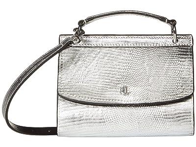 LAUREN Ralph Lauren Top-Handle Belt Bag Medium (Silver) Bags