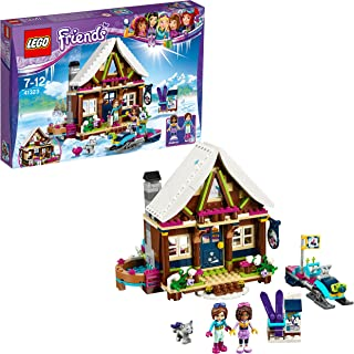 Lego Friends-41323 Friends: estación de esquí: Cabaña, Multicolor