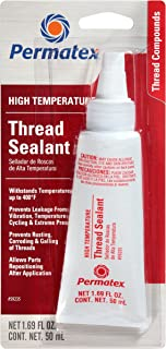 Permatex 59235 High Temperature Thread Sealant, 50 ml Tube