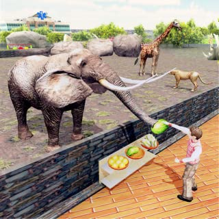 Virtual Family Zoo Simulator: Wildlife Animal Games For Kids