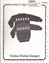 Childs Sheep /& Reindeer Vest Sweater Knitting Pattern Yankee Knitter #3