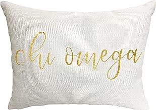 Chi Omega Sorority Throw Pillow