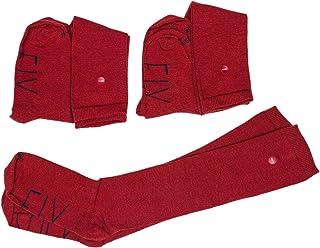 SOCKFIX, Calcetines escolares largos con botón (pack 3 pares)