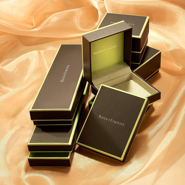 Ross-Simons Italian Andiamo 14kt Yellow Gold Over Resin Knot Station Bangle Bracelet. 7.5 inches