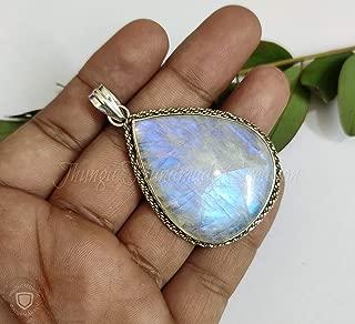 Best rare blue moonstone jewelry Reviews