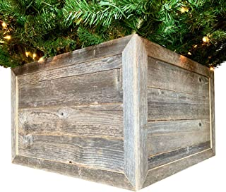 Best wooden christmas tree stand box Reviews