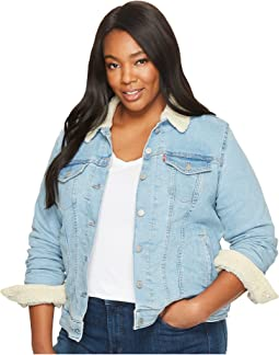 Levi's® Plus Sherpa Trucker Jacket