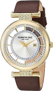 كينيث كول ساعة عملية كاجوال نساء انالوج بعقارب جلد طبيعي - KC15005006