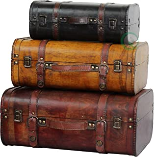 Best antique luggage set Reviews