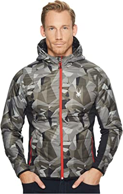 Spyder - Glissade Full Zip Hoodie Insulator Jacket