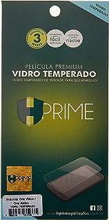 Película de Vidro temperado 9h para Motorola One Vision, Hprime, Película Protetora de Tela para Celular, Transparente