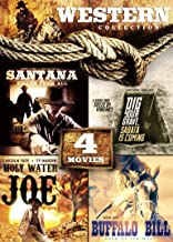 4-Movie Western Collection: Holy Water Joe / Dig Your Grave, Sabata's Coming / Buffalo Bill: Hero of the West / Santana Killed Them All