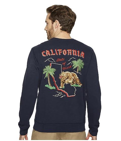 lucky brand california crew neck sweatshirt