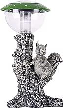 TIAAN Solar garden lamp Solar garden lights with Squirrel statue Solar garden animal lights …