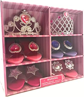Oojami Perfect Touch Play Set Princess Dress Up and Play Shoe & Tiara