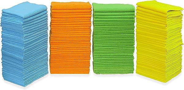 150 包 SimpleHouseware 超细纤维清洁布 4 种颜色