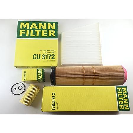 Mann Filter Ölfilter Luftfilter Pollenfilter W211 S211 200 220 270 Cdi E Klasse Auto