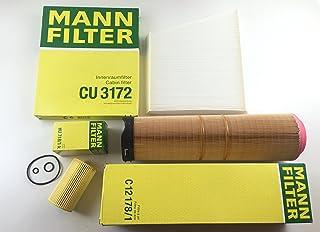 MANN FILTER ÖLFILTER LUFTFILTER POLLENFILTER W211 S211 200 220 270 CDI E KLASSE