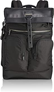 Alpha Bravo London Roll Top Laptop Backpack -15 Inch Computer Bag for Men and Women
