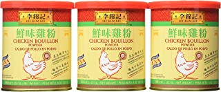 Lee Kum Kee Chicken Bouillon Powder, 8-Ounce Cans (Pack of 6)