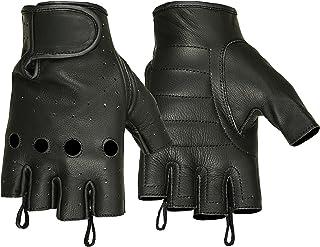 Hugger Affordable Unlined Fingerless Summer Riding Glove