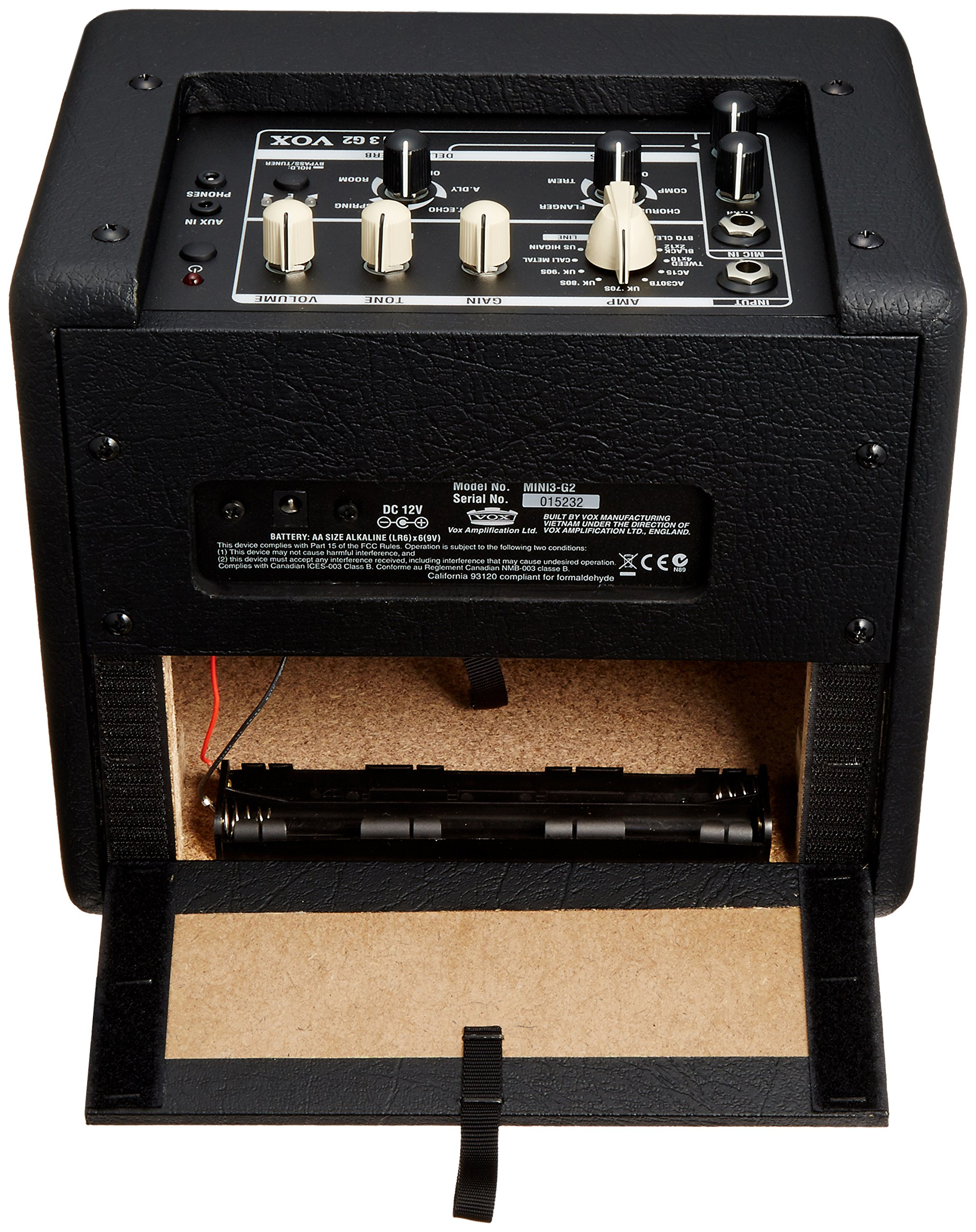 Amplificadores cabezales Vox MINI3 G2 Black