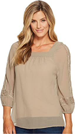 Crinkle Lace Blouse