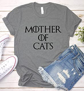 0dc815013 Mother of Cats Shirt, Game of Thrones Mom Gift Idea, Funny Humor Saying T