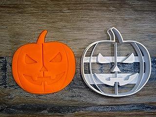 ELACE - Emporte-pièce thème Halloween Forme de Citrouille pour la Patisserie, sablé, Biscuit, pâte à Sucre, pâte à Modele...